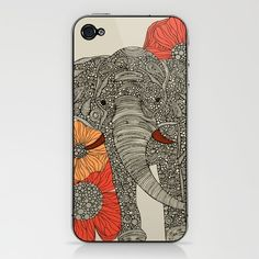 The Elephant iPhone & iPod Skin