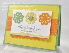 Blossom Bouquet Triple Layer Punch  Stampin' Up!