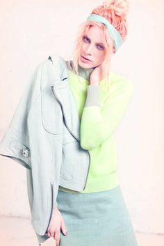 Salmon-Saturated Shoots - The Quinta Witzel Nylon Editorial Stars a Pink Pastel Lady (GALLERY)