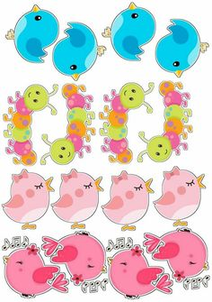 Fest a jardimt Baby Shower Clipart, Birthday Clipart, Tiki Party, Card Making Supplies, Cute Clipart, Hand Art, Cute Cartoon Wallpapers, Scrapbook Stickers, Hello Kitty