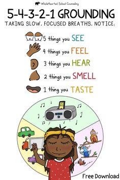 Mindfulness For Kids, Mindfulness Activities, Mindfulness Exercises, Mindfulness Retreat, Counseling Activities, School Counseling, Anger Management Activities For Kids, Emotional Regulation, Emotional Development