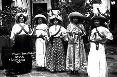 One of my favorite pictures.  Soldaderas of the Mexican Revolution- neat picture