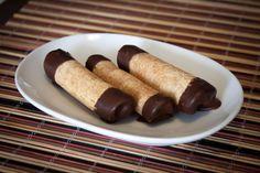 Zatočené kolieska s čokoládou