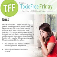 #ToxicFree Friday: Common Household Dust #SpringCleaning #HealthyHome