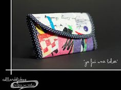 plastic bags recycled into a beautyfull wallet