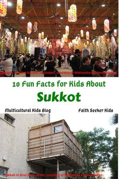 Have you heard about the festival of Sukkot? Read all about it here. You will be enthralled by the many little elements of this celebration. Holidays Around The World, Around The Worlds, Jewish High Holidays, Temple In Jerusalem, Fun Facts For Kids, Kids Web, Geography For Kids, Celebration Around The World, Water Drawing