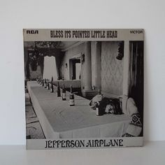 Vintage 1969 Jefferson Airplane Bless It's Pointed Little Head Vinyl Record LP UK Pressing Pysch Rock by VintageBlackCatz on Etsy