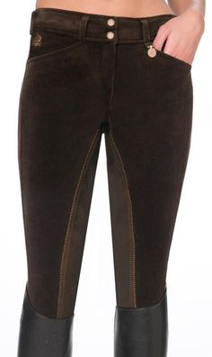 Winter cord breeches by Nathalie