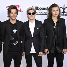 """congrats to the boys for winning 2 awards at the Billboard Music Awards 2015 last night!! I seriously fangirled hard when they came on stage to accept their first award and all I could think of the whole time they were walking up the stairs was """"the boys on the stairs"""" but then ya know when you enter that crying stage when fangirling bc zayn's not there then you're all like IM SO PROUD OF MY BABIES!! (repeat 100000 x). they all looked so HOT last night tho!!! whoo! good job boys! :)"""