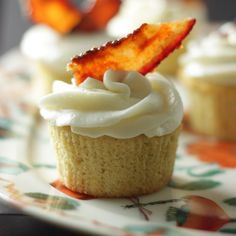 Bacon and Beer Cupcakes - next game day dessert!