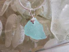 Precious Aquamarine Sea Glass Ring, Sea Glass Jewelry, Green Pendants, Glass Pendants, Beach Candy, Pretty Green, Glass Earrings, Blue Sapphire, Amethyst