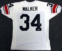 AAA Sports Memorabilia LLC - Herschel Walker Georgia Bulldogs NCAA Hand  Signed Authentic Style White Jersey 045e02c8e