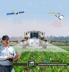 TOPCON  Precision Agriculture / Fuar Tanıtım Görseli #Topcon #Agriculture Precision Agriculture, Modern Agriculture, Farming Technology, Technology World, Drones, Material Science, High Tech Gadgets, Natural Resources, Civil Engineering
