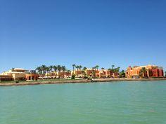Egypte, El Gouna 2014, Steigenberger Golf Resort.
