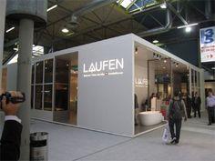 LAUFEN Cersaie Exhibit Trade Show Design, Exhibit, Living Spaces