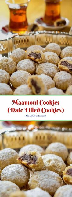 Maamoul Cookies (Date Filled Cookies) | The Delicious Crescent