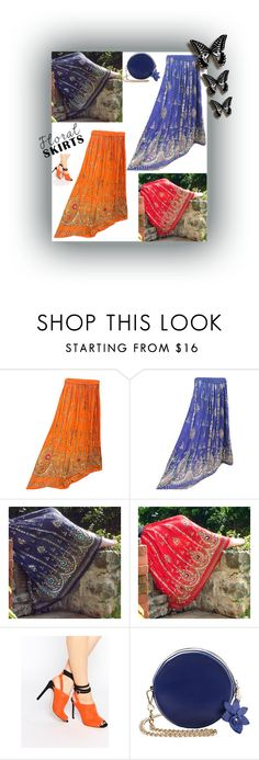 """""""Sequin Maxi Boho Skirts"""" by india-trendzs ❤ liked on Polyvore featuring ASOS, maxiskirt, skirts, gypsyskirt and bohemianskirt"""