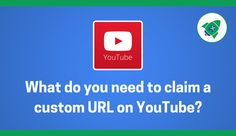 Want to get your YouTube custom URL? It may well be as simple as connecting your website to your Google+ Page... And you need to do this. If you're not using YouTube to market your real estate you should be. Upload tours, interviews with staff, resident events and anything else to build a sense of community. Having a YouTube channel helps tremendously with SEO as well. [Multifamily, Property Management, Apartments] #NerdMentor