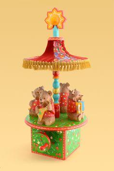 Карусель Медведи, Царицынская игрушка