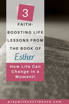 For times such as this! That is a powerful line from the book of Esther in the Bible, but this book is filled with so much more! Dive into 3 faith-boosting life lessons from Queen Esther that we can use to apply to our own prayer lives. #esther #queenesther #timeslikethis #timessuchasthese #bookofesther #lessonsfromthebible #praywithconfidence Christian Encouragement, Encouragement Quotes, Bible Verses For Women, Scripture Verses, Bible Study Materials, Book Of Esther, Queen Esther, Christian Motivation, Bible Study Tips