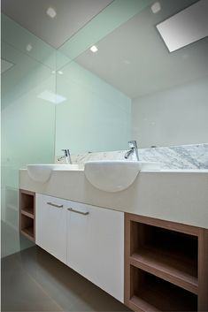 7 ½ Crystal Cool Ways To Use Glass In A Contemporary Bathroom. Bathroom  Wall PanelsShower ...