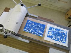 Time for Art!: COLLAGRAPHY FOR KIDS, excellent blog site, great ideas and images