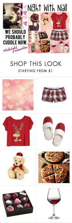 """""""Night with Niall"""" by kennedey-lynn-freeman ❤ liked on Polyvore featuring Aerie, Harrods, Emile Henry and Bormioli Rocco"""