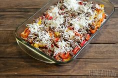 Sweet Pepper Lasagna