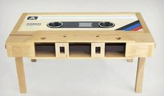 Cassette-Tape-Coffee-Table