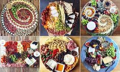 More than 2,000 people  have shared pictures of cheese plates on Instagram as part of a new craze for artistic charcuterie and cheese platters.