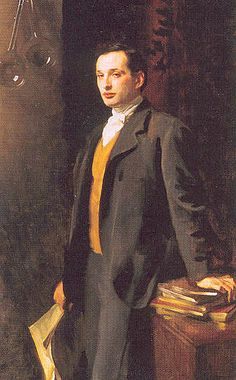 Alfred son of Asher Wertheimer. by John Singer Sargent