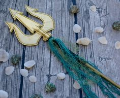 Prop Trident Costume Mermaid Poseidon Spear by lilliannamarie on Etsy https://www.etsy.com/listing/250277808/prop-trident-costume-mermaid-poseidon