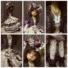 OOAK Handmade Outfit for MSD BJD by Monica Spicer