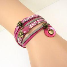 Jisalée tutoriel bijoux  le bracelet 2 tours