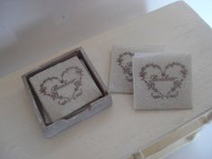 Miniature napkins  box by cinen on Etsy, $15.20