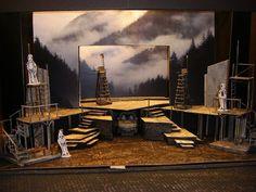 Lillian Alling Set Model at Banff Centr Set Theatre, Set Design Theatre, Theater, Theatre Stage, Design Set, Stage Set Design, Design Model, Banff Centre, Design Research