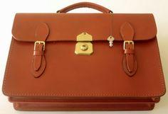 leather Briefcase Satchel by AustralianSatchel on Etsy