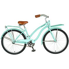Holiday Bicycle. I want to ride this at the beach while carrying my surf board with my dog running beside me.