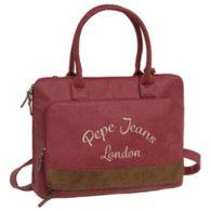Bolso @pepejeans  rosa porta ordenador este bolso con bandolera en…
