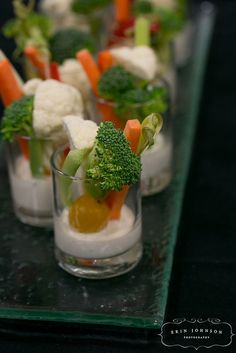Veggie Crudite by D'Amico Catering, via Flickr