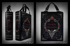 The Vampire Chronicles Book Bag by Euflonica.deviantart.com on @deviantART
