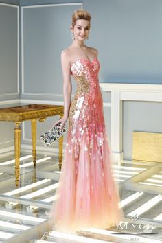 Paris Night Party Dresses Collection 2014