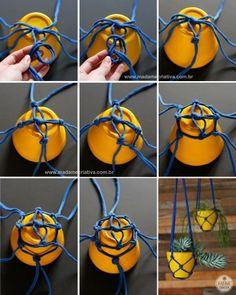 DIY hanging pots!