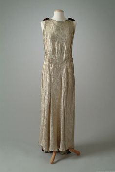 Dress 1934 The Meadow Brook Hall Historic Costume Collection