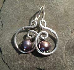 Swirl and black Pearl