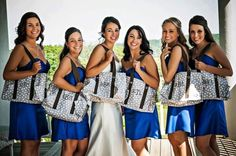 Thirty-One Organizing Utility Totes make the perfect bridesmaid gifts!