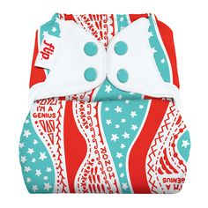 Cloth Diapers :: Diaper Covers :: Flip One-Size Diaper Cover - Arctic Baby Bottoms Cloth Diaper Boutique