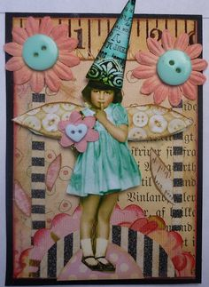 ATC--whimsical fairy