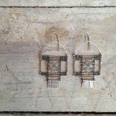 earrings with herkimer diamonds