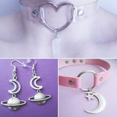 Jewelry Trends 2017  ofstarsandwine: Pastel goth restocks!   OfStarsAndWine on